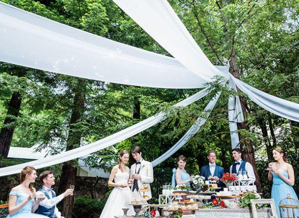 【2019年秋以降の結婚式】『CIEL~シエル~』グレードアップ特典多数!料理やコーディネートも豪華に/30名~120名迄OK
