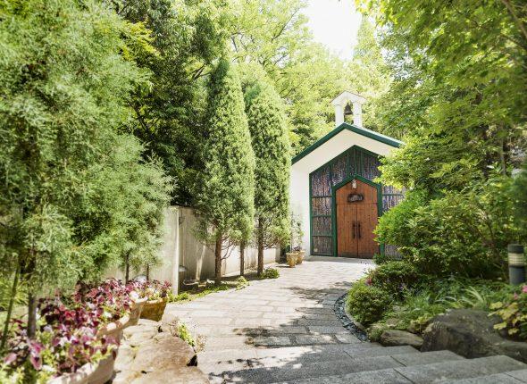 【月曜限定】来館特典付!森のチャペル×緑溢れる会場見学ツアー